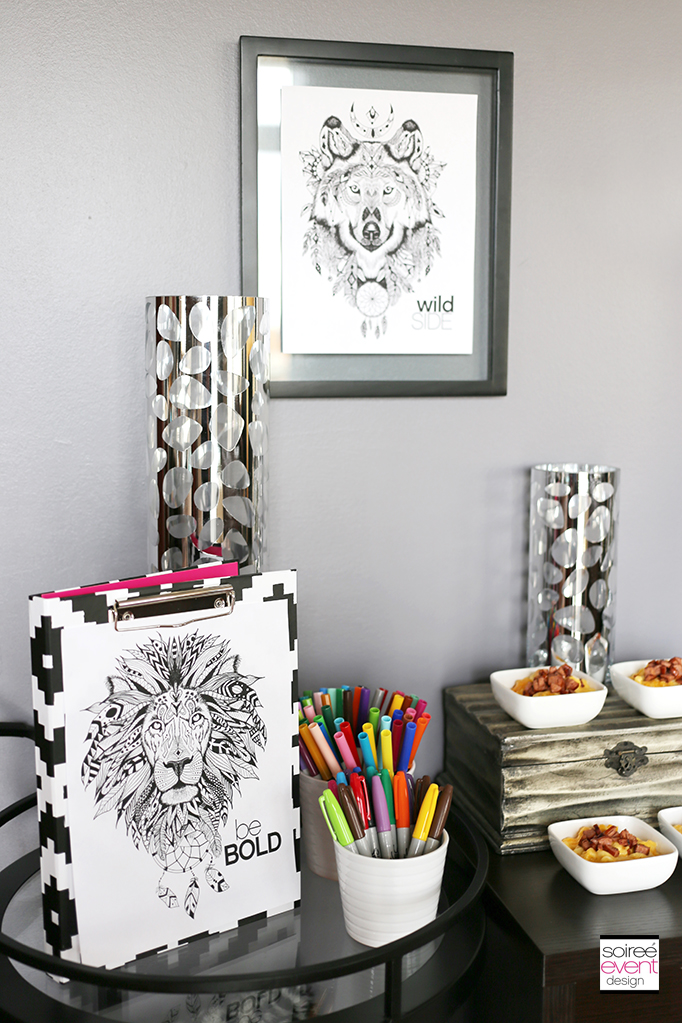 Adult Coloring Party Ideas