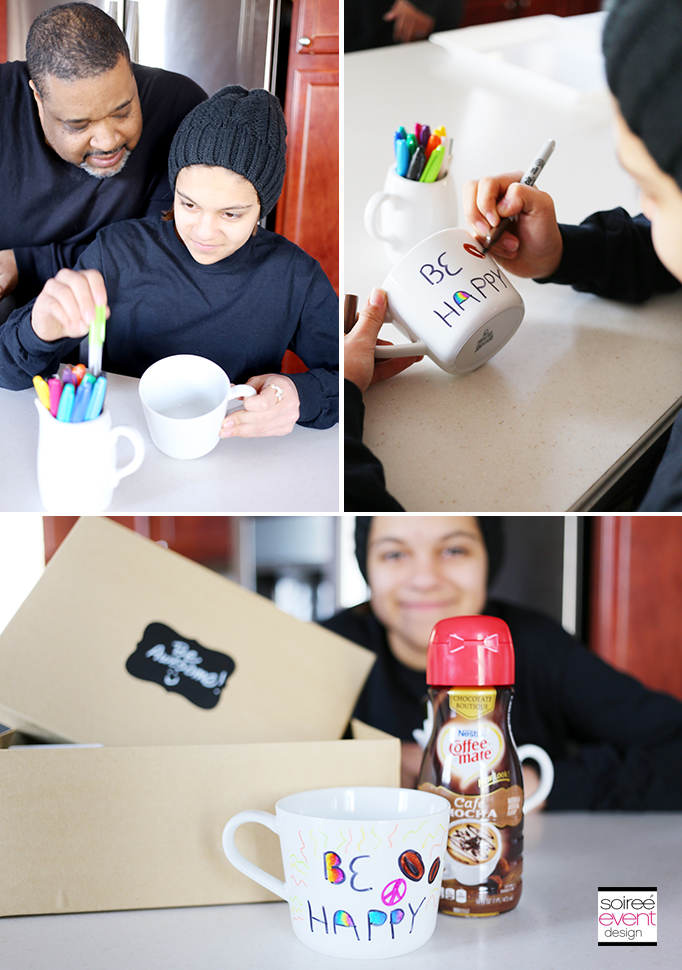 Design a Mug party activity