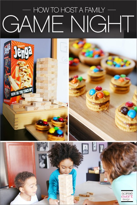 Host a Family Game Night In Party with Yummy Snacks!