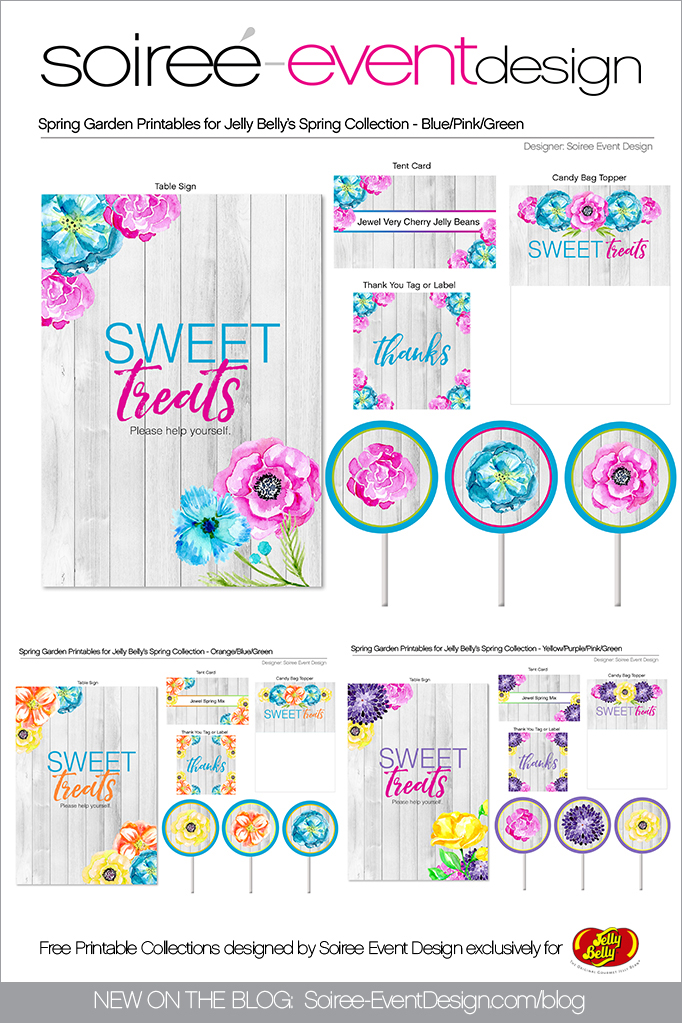Free Spring Printables Flower Garden 2