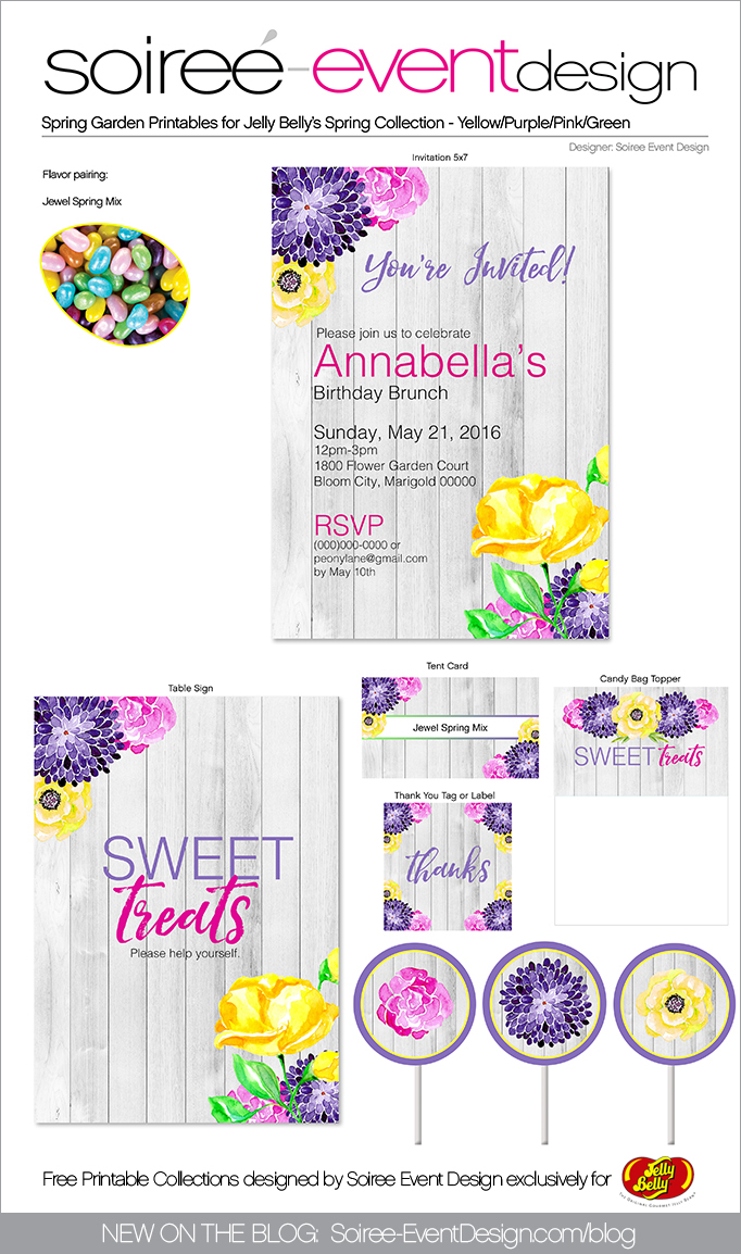 Free Spring Printables Flower Garden_PURPLE 2