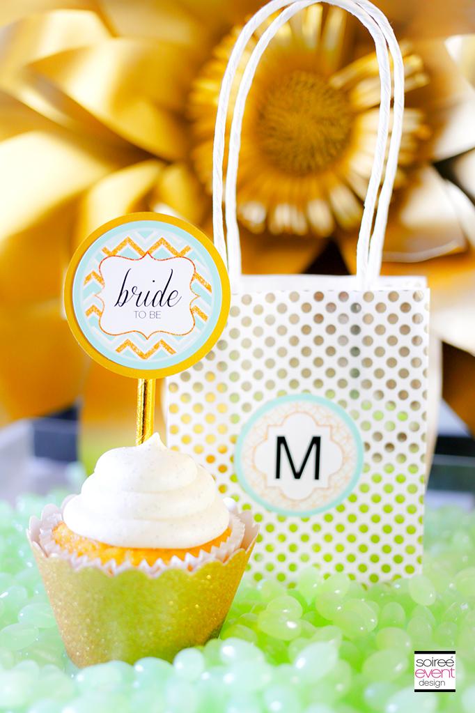 Gold Bridal Shower Printables