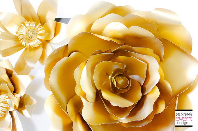 Gold-Paper-Flowers-Bridal-Shower