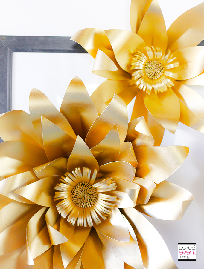 Gold-Paper-Flowers