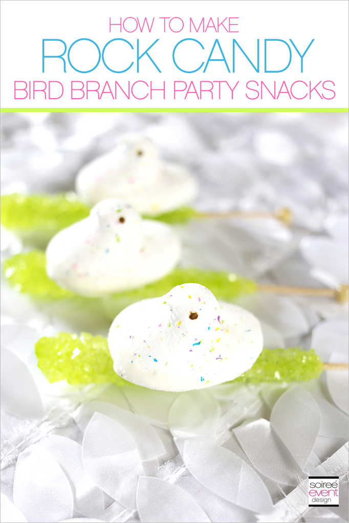 How to make Rock Candy Bird Branches