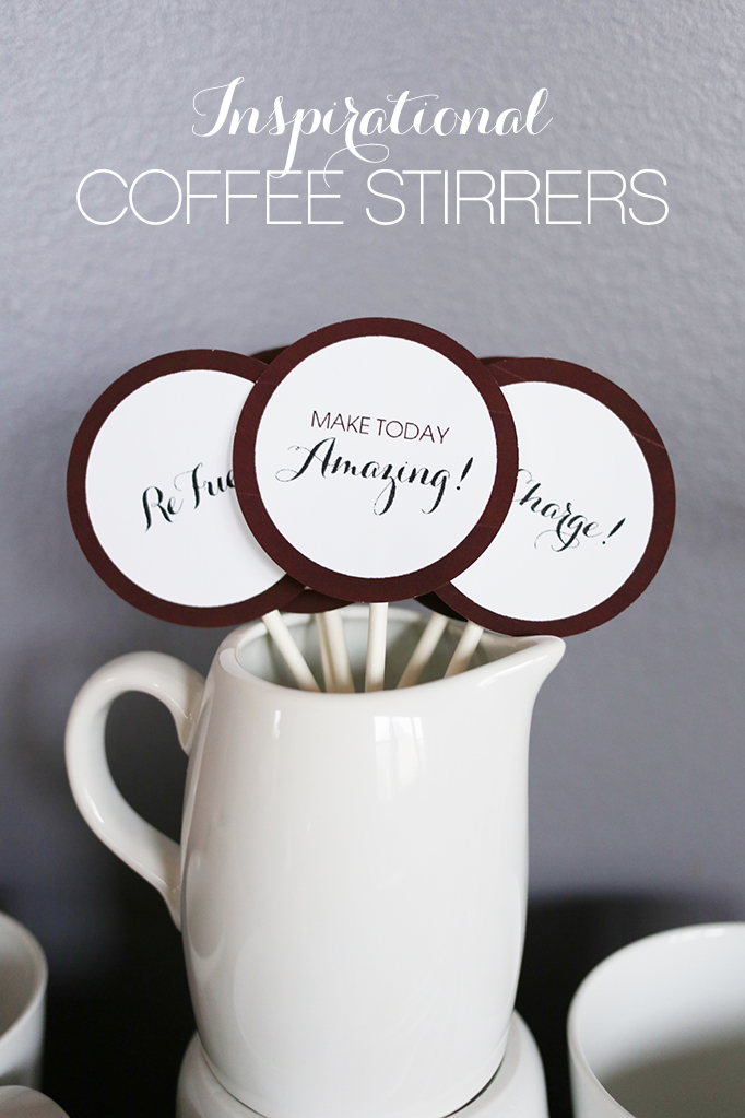 Inspirational Coffee Stirrers