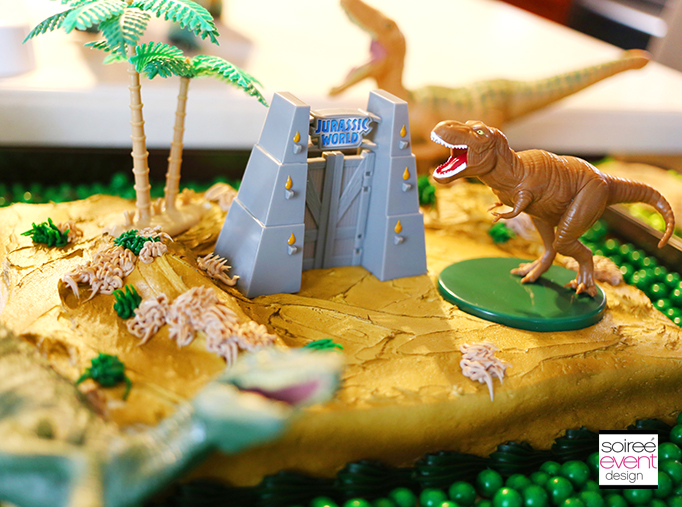 Jurassic World Cake Decorations