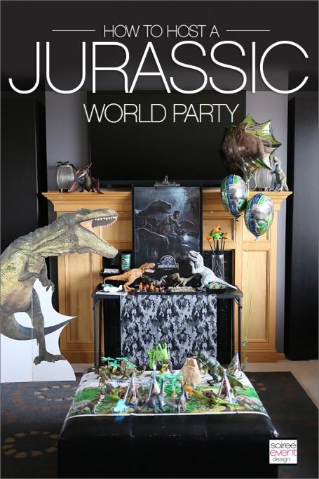 Jurassic World Dinosaur Party!