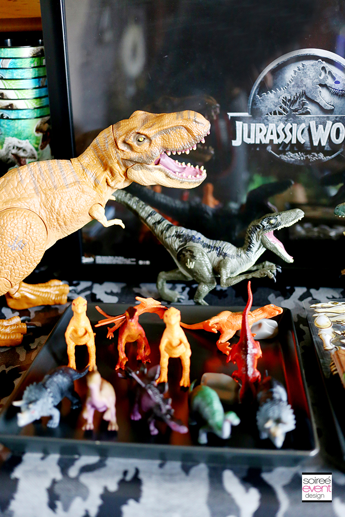 Jurassic World Dinosaur Party Soiree Event Design