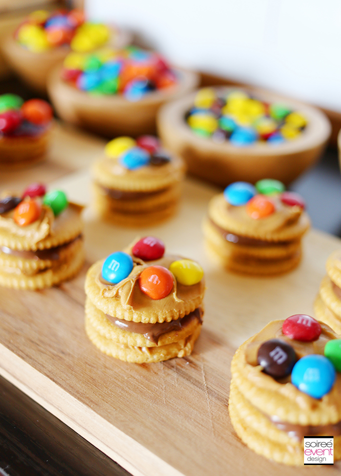 M&Ms Cracker Stackers Snacks