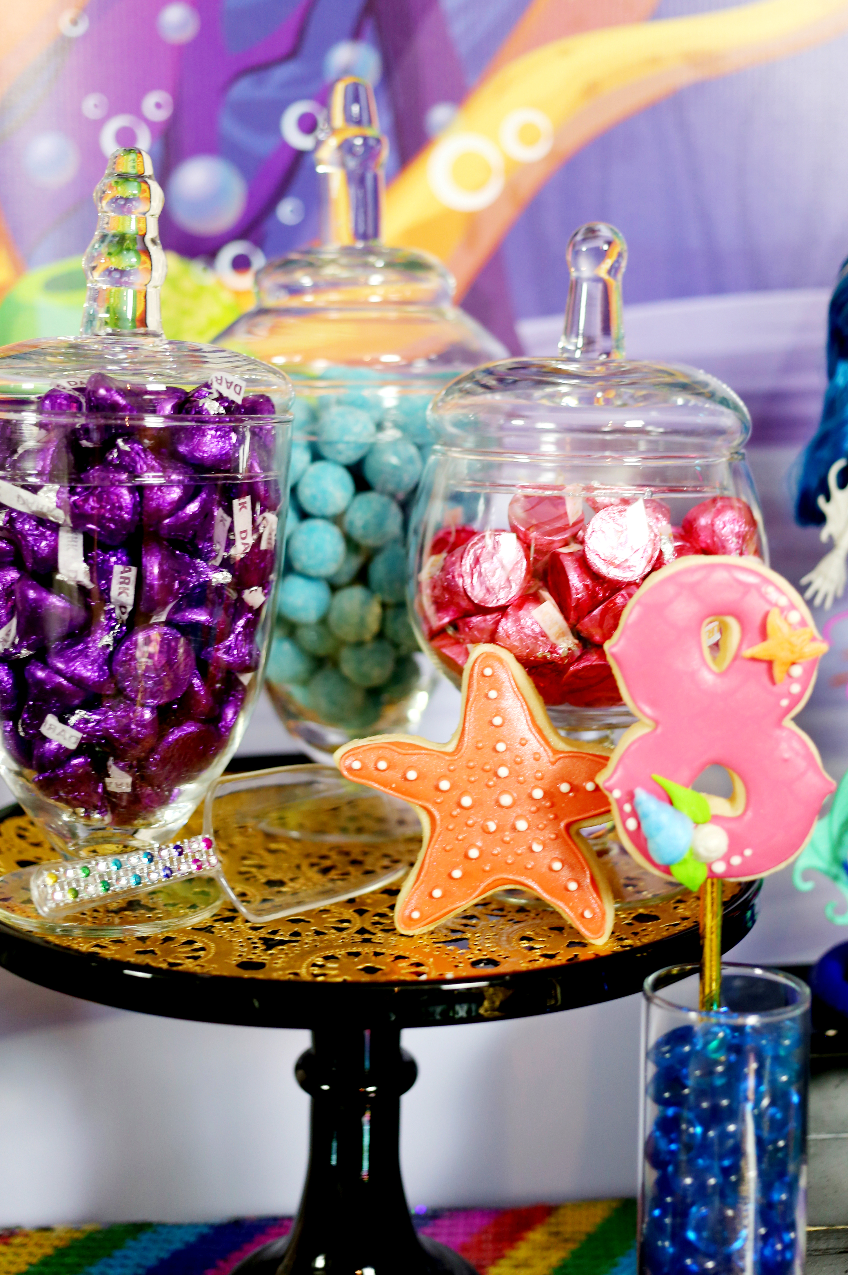 Mermaid Party Candy Table