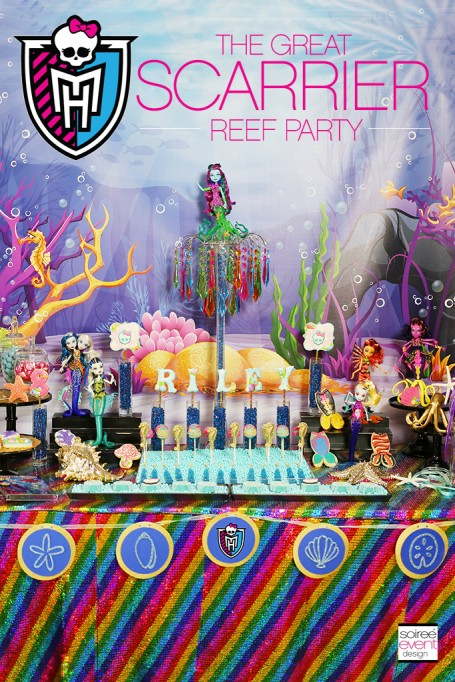 Monster High Party Ideas – Great Scarrier Reef