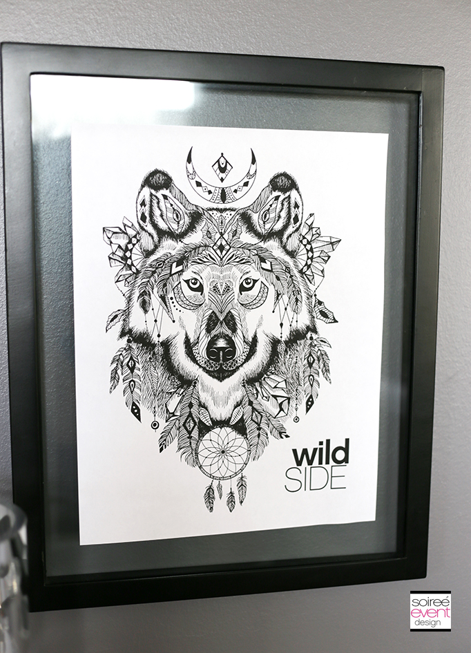 Wild Side Adult Coloring Party