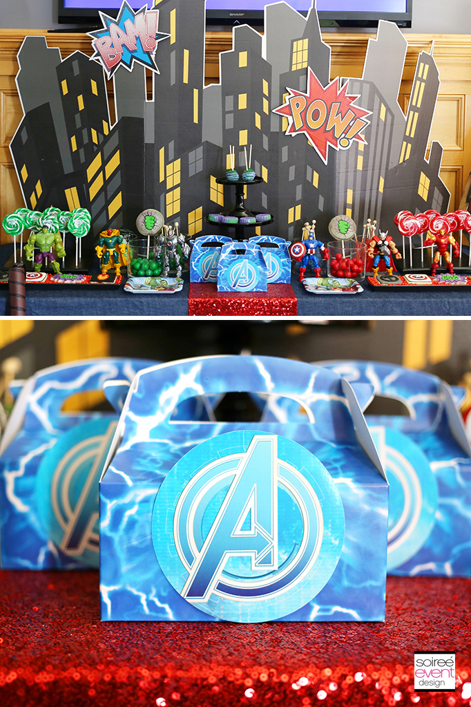 Avengers-Party-Candy-Buffet