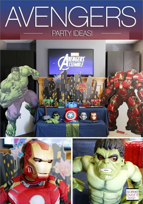 MARVEL Avengers Party Ideas!