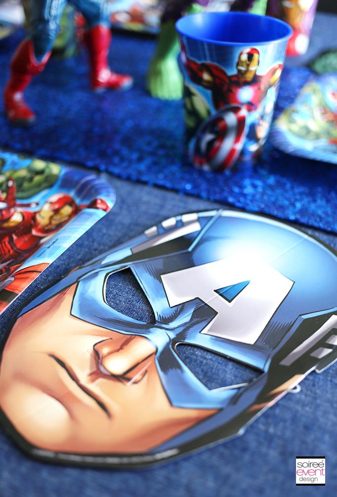 Avengers-Party-Masks
