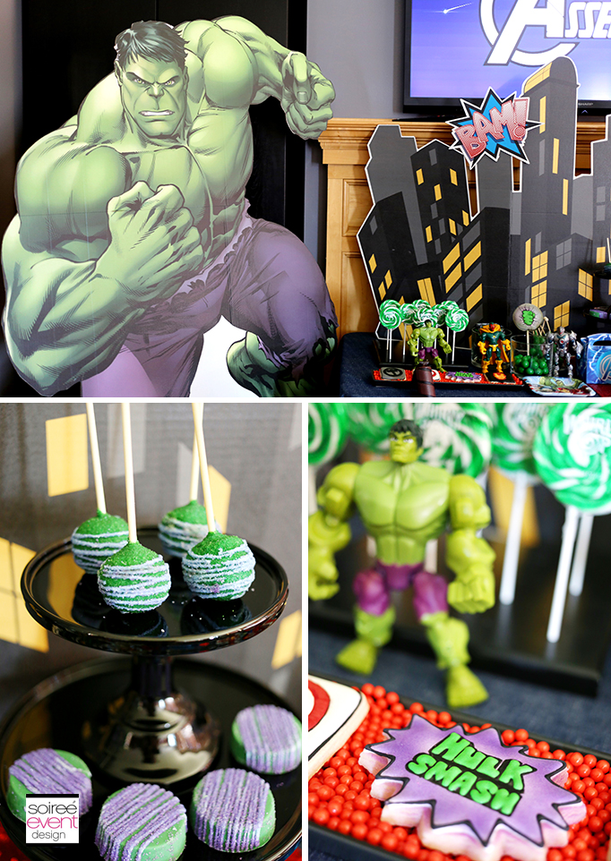 Avengers-Party-The-Hulk-Desserts