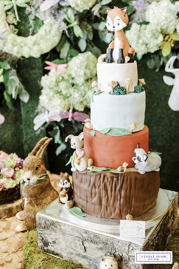 Enchanted Forest Cake