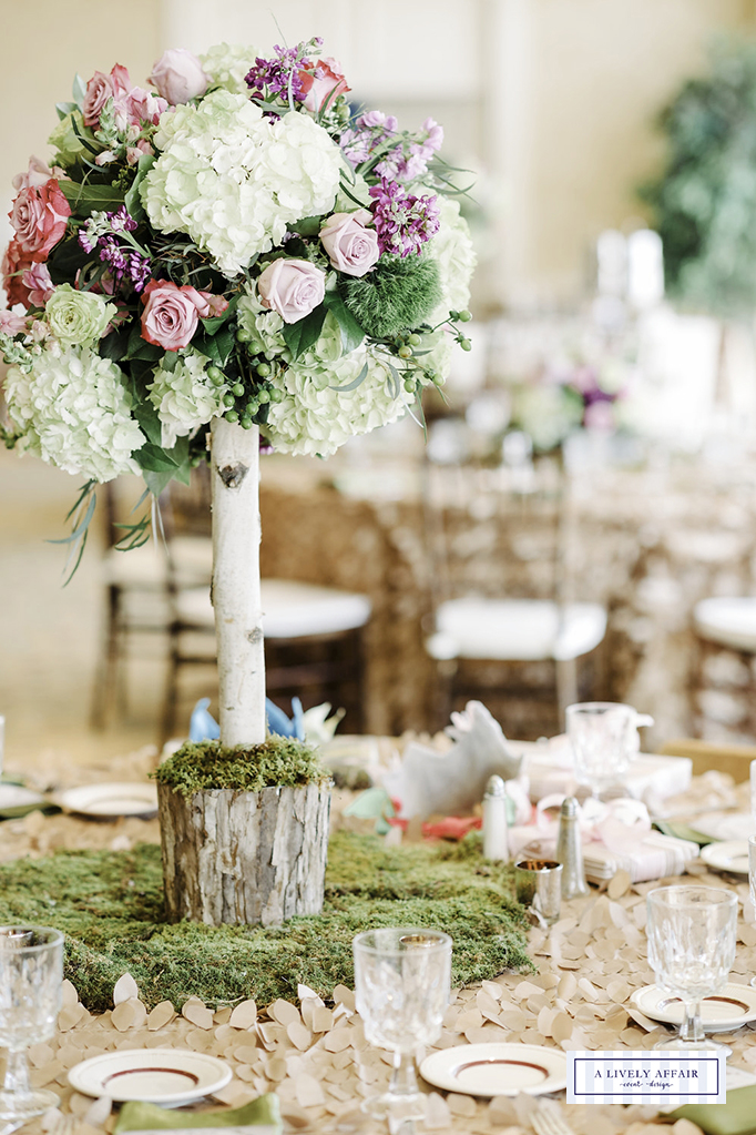 Enchanted Garden Centerpiece