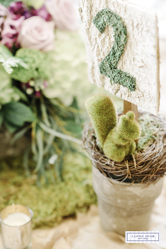 Enchanted Garden Party Centerpieces
