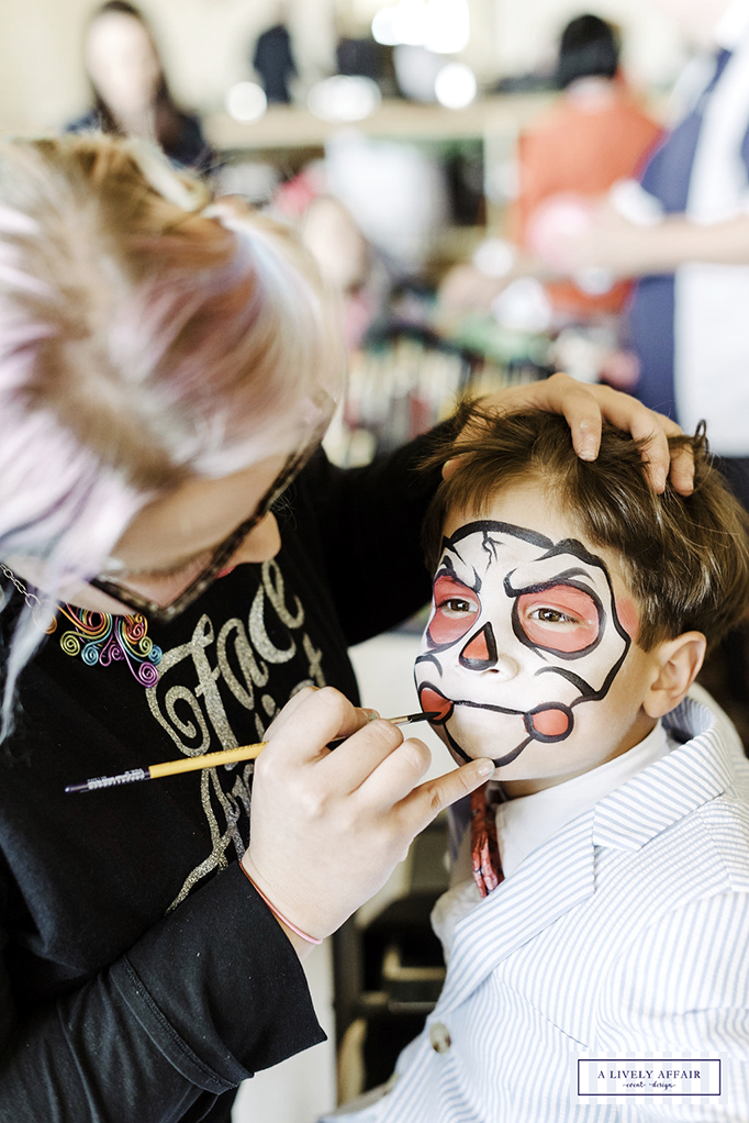 Enchanted Garden Party Face Painting