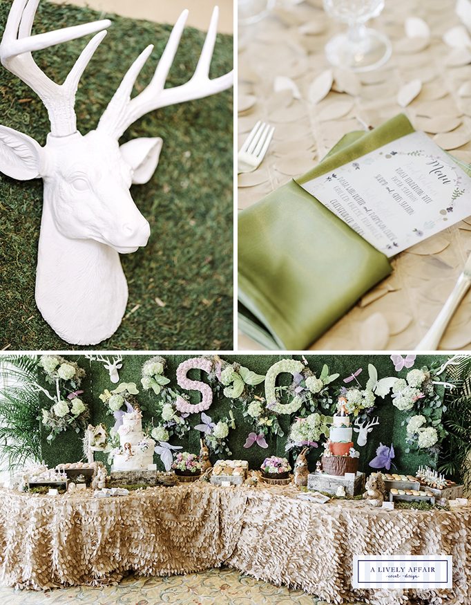 Enchanted Garden Party Table