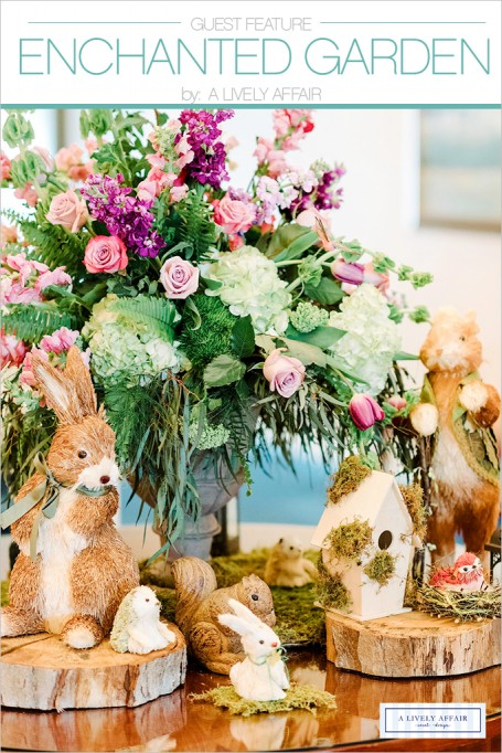FRIDAY GUEST FEATURE: Enchanted Woodland Forest Party by A Lively Affair