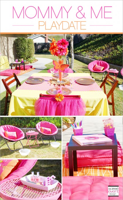 """Mother's Day Party – """"Mommy & Me Playdate"""""""