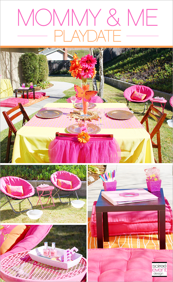 Mothers Day Party Mommy Me Playdate Soiree Event Design