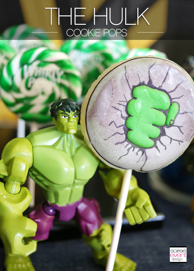 THE HULK Cookies