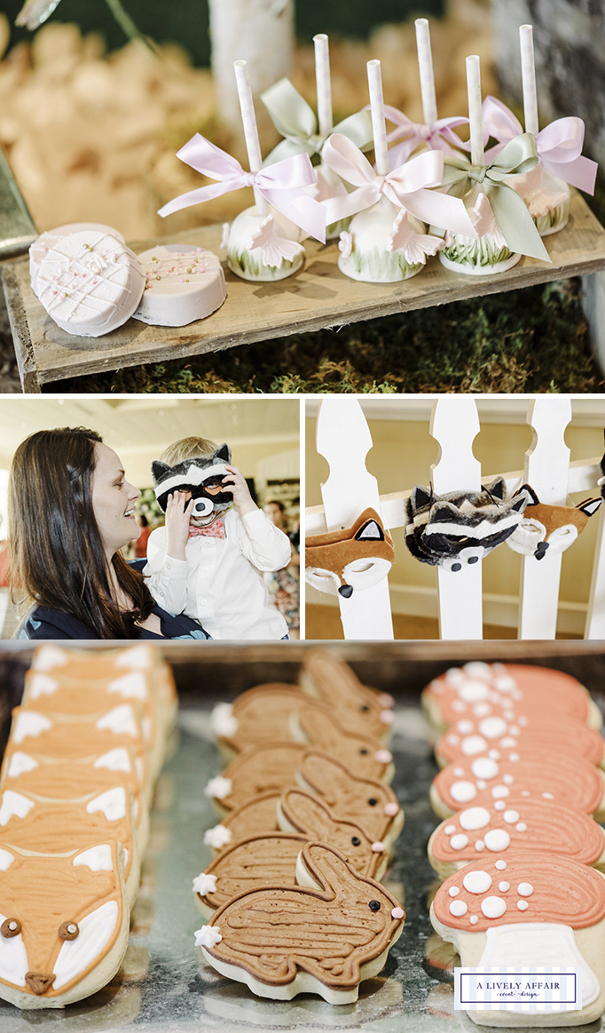 Woodland Animals Party Desserts