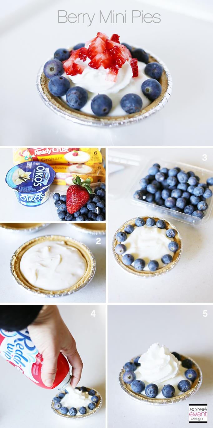 Berry Mini Pies Recipe