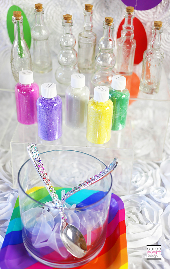 Fairy Party Craft - Pixie Dust Bottles Supplies