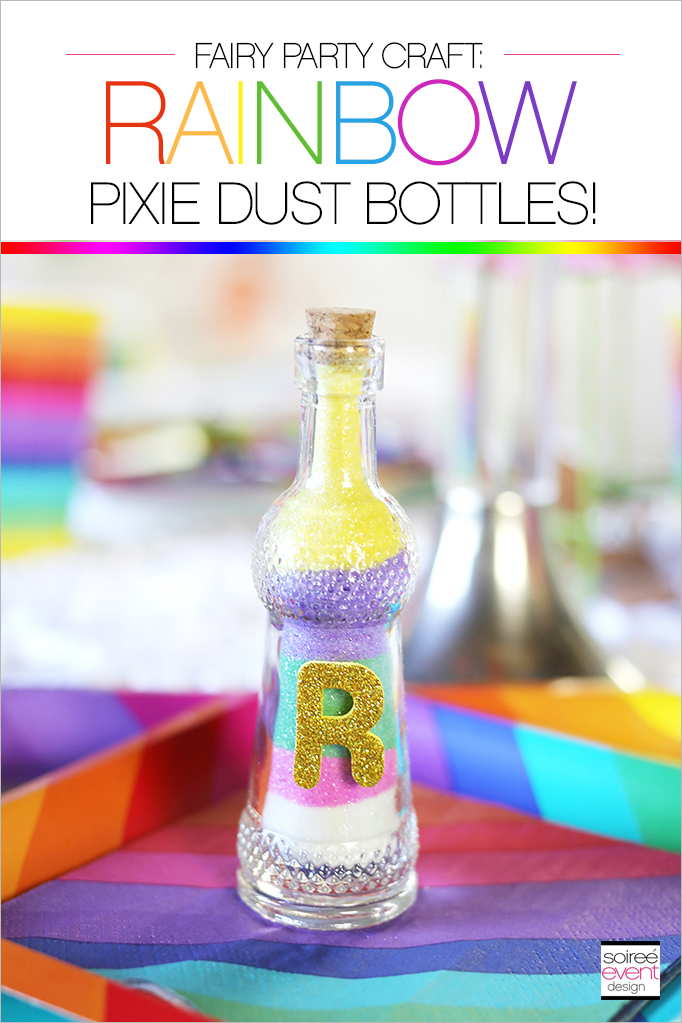 Fairy Party Craft - Pixie Dust Bottles