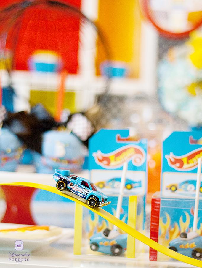 Hot Wheels Party - Custom Decorations