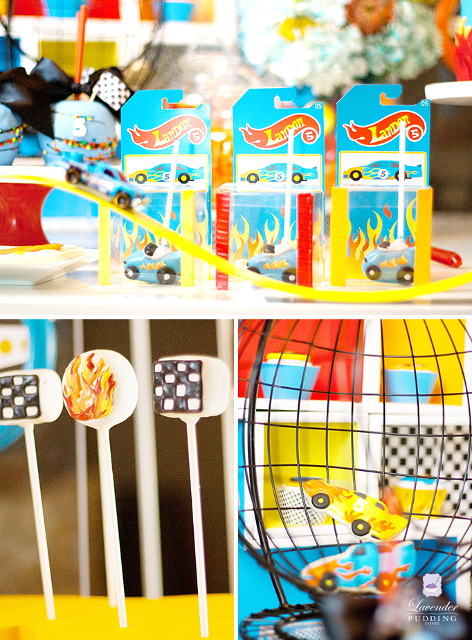 Hot Wheels Party Desserts
