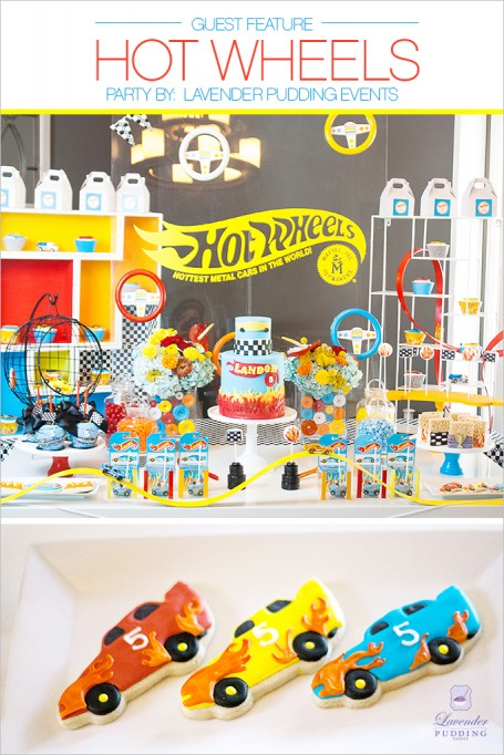 GUEST FEATURE FRIDAYS – Hot Wheels Party!