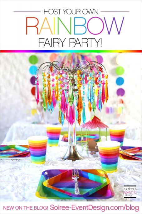 Rainbow Fairy Party Ideas!