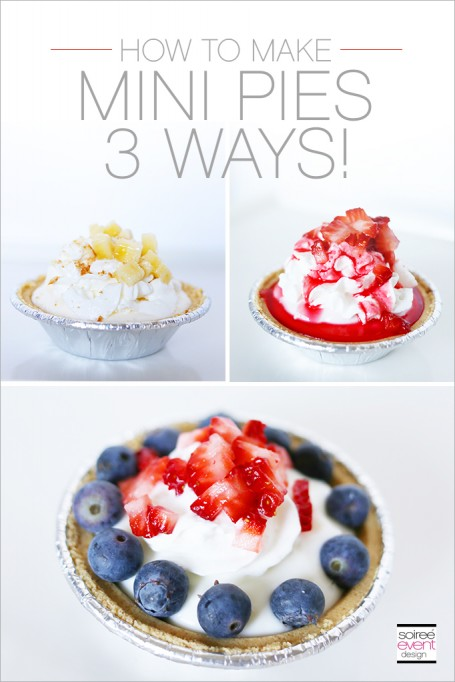 TREND ALERT: How to Make Mini Pies 3 Ways!
