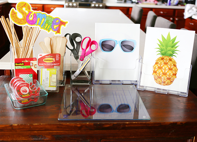 Craft Supplies for Photo Booth Props