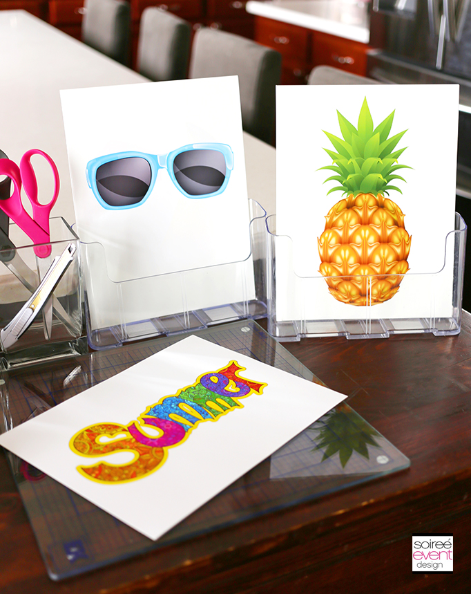 DIY Photo Booth Props_Use Summer Clip Art