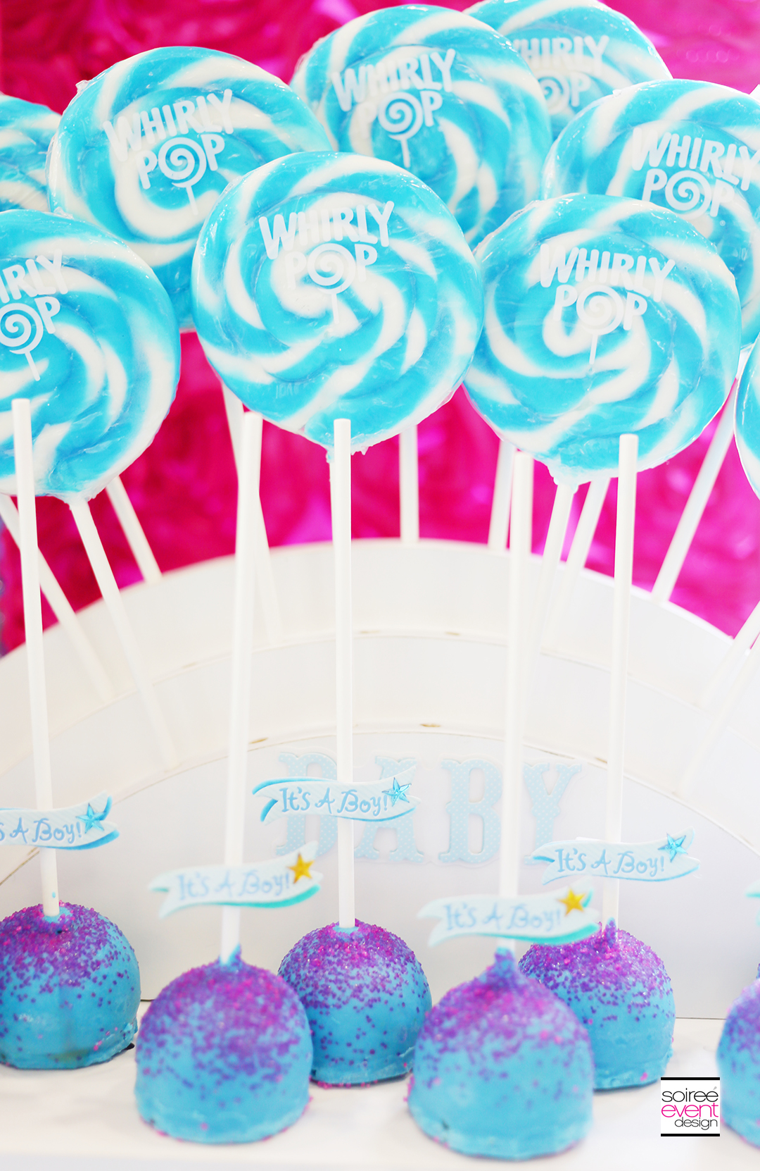 Gender Reveal Party Desserts - Boy