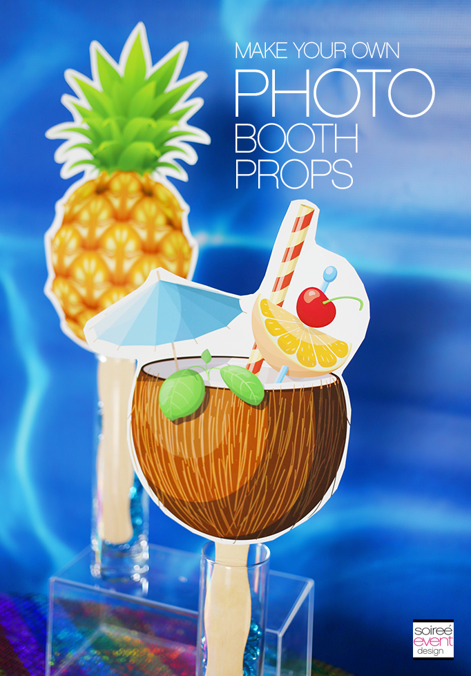 How to make your own photo booth props 2