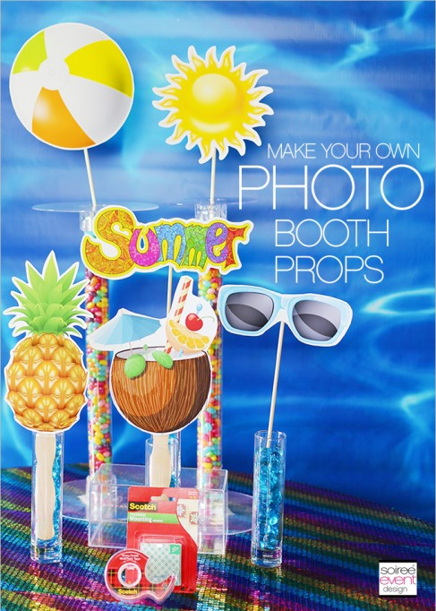 Create Your Own Summer Party Photo Booth and Photo Props!