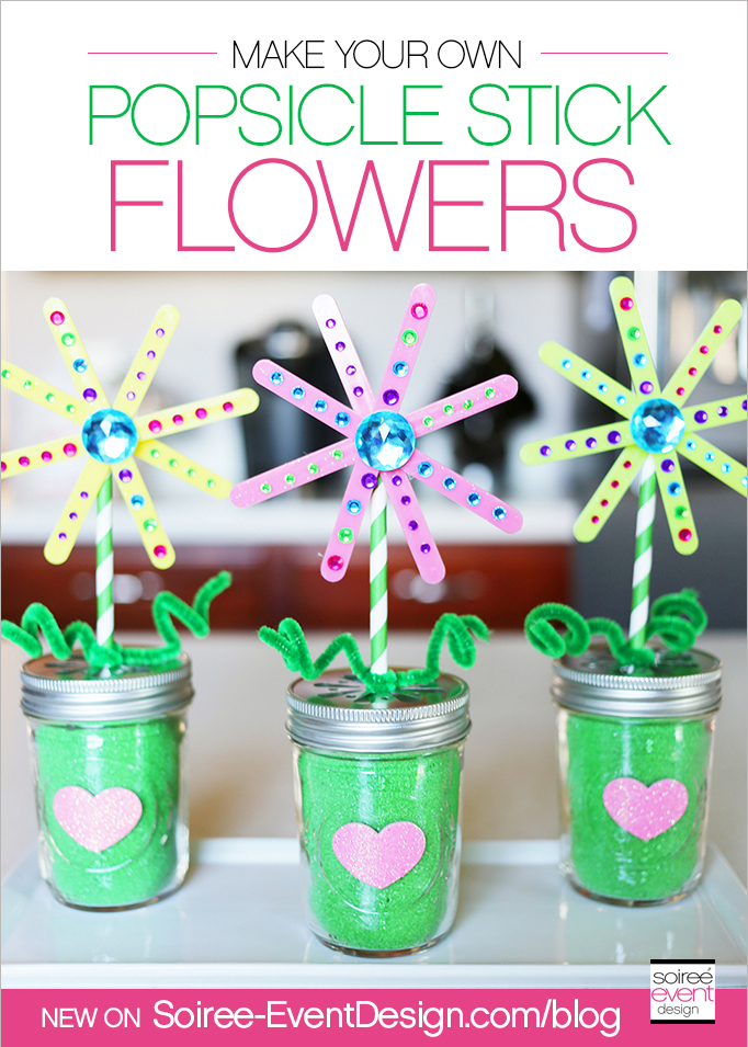 Make Your Own Popscicle Stick Flowers