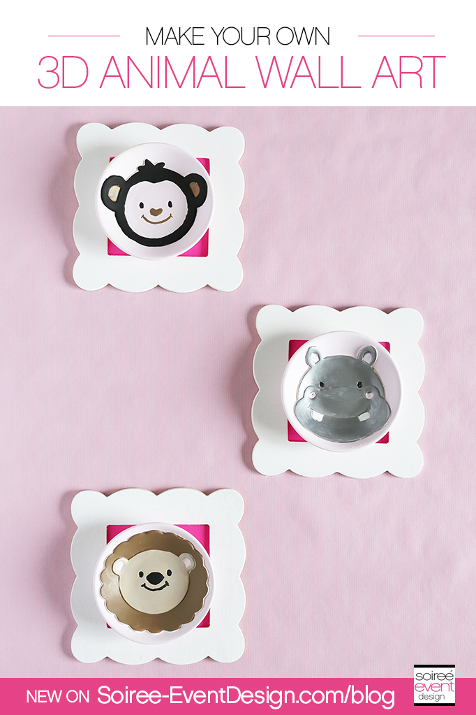 Make Your Own Wall Decor For Nursery : Make your own wall art for kid s room or nursery