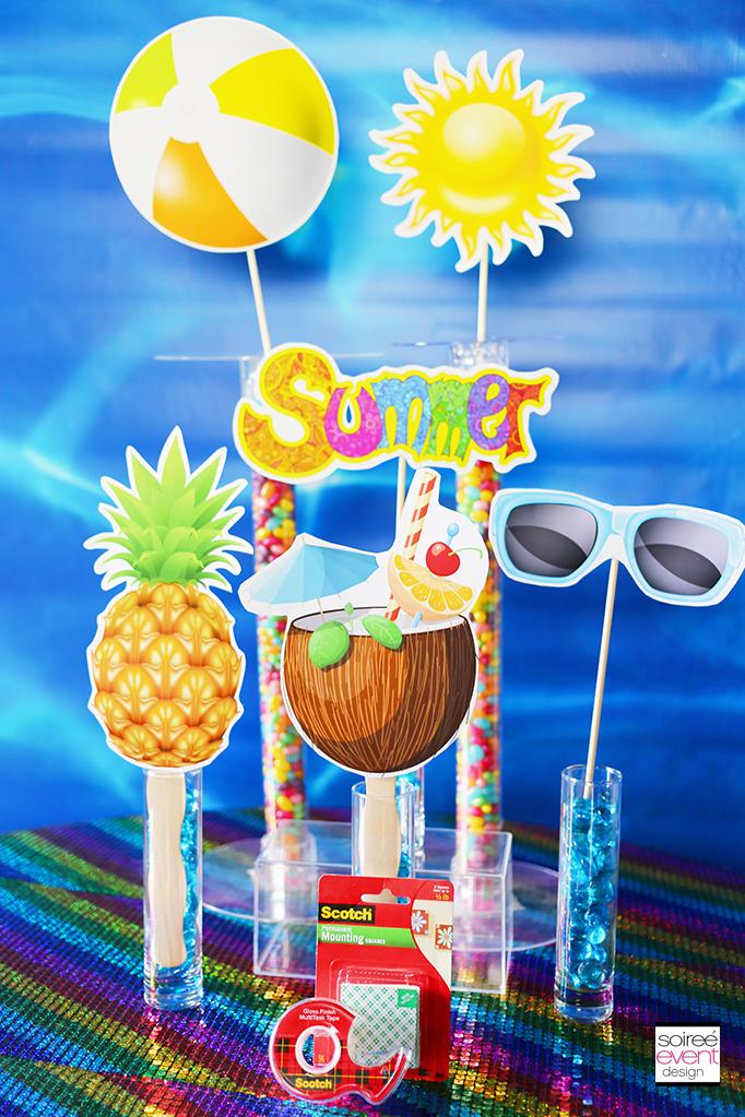 Photo booth prop sticks