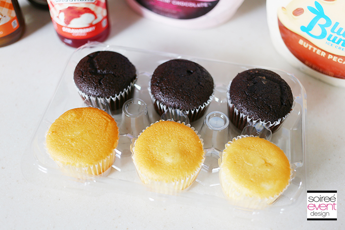 unfrosted cupcakes