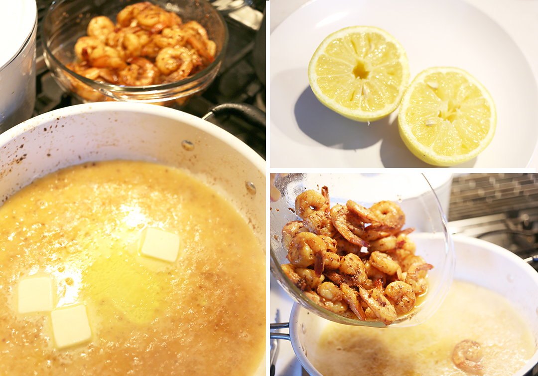 Lemon Garlic Shrimp Pasta - Step 4