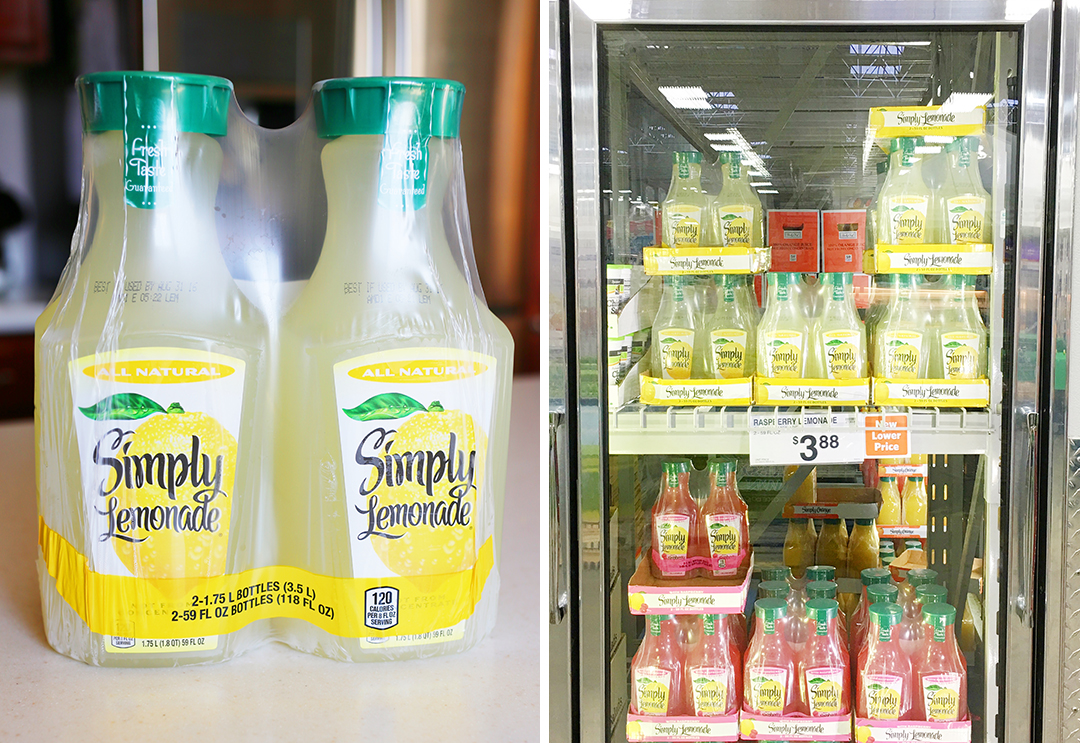 Simply Lemondade 2 pack at Sams Club